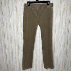 Ann Taylor Loft Marisa Corduroy Slacks Size 4